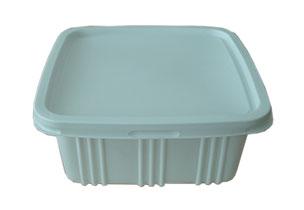 กล่องอาหารสี่เหลี่ยมจตุรัส PP