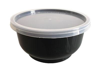 ถ้วย 13 oz. สีดำ พร้อมฝาใส