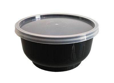 ถ้วย 7 oz. สีดำ พร้อมฝาใส