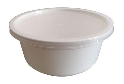 ชามซุป 750 ml. สีขาว