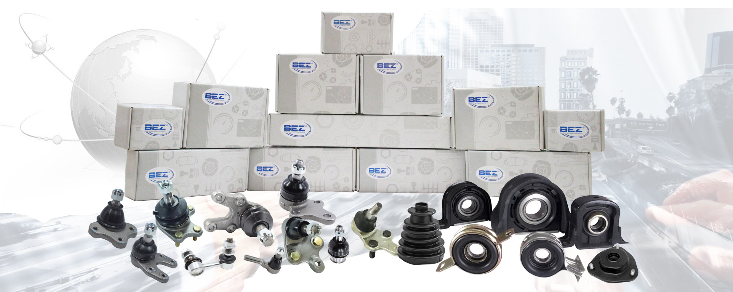 BEZ - Quality Automotive Parts from Thailand