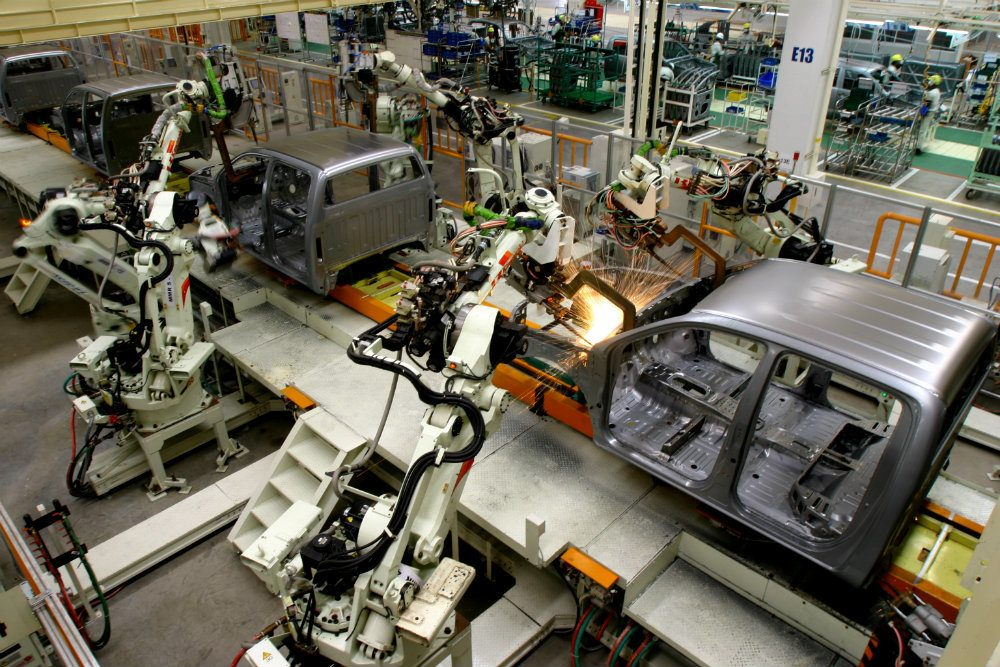 AUTO OUTPUT UP 8% IN JANUARY