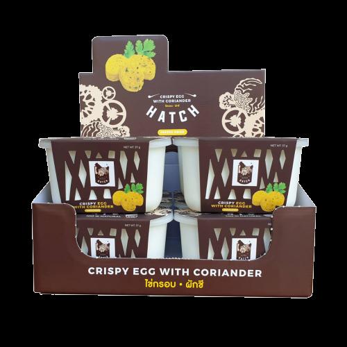 HATCH Crispy Egg with Coriander Display