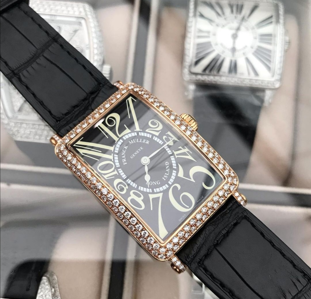 Used Franck Muller Long Island Black Dial