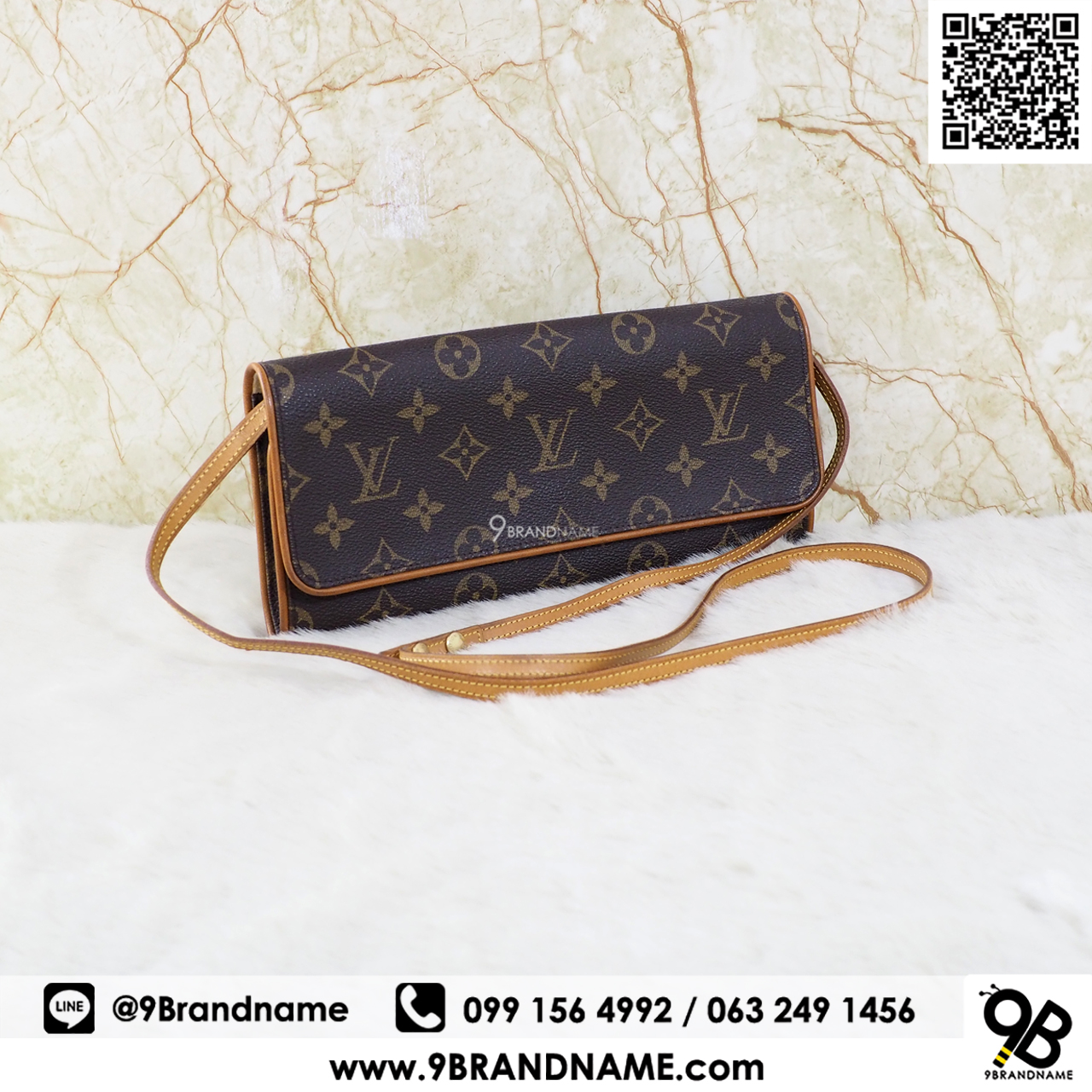 Louis Vuitton Pochette Florenting Monogram Canvas