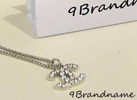 Chanel Necklace สร้อย CC ประดับคริสตัล เม็ดใหญ่ ของใหม่ค่า