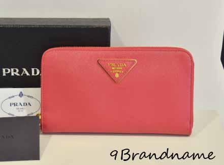 Pre-Order - Prada Saffiano Zippy Wallet สี กระเป๋าตังค์ยาว ของใหม่สั่งได้นะคะ