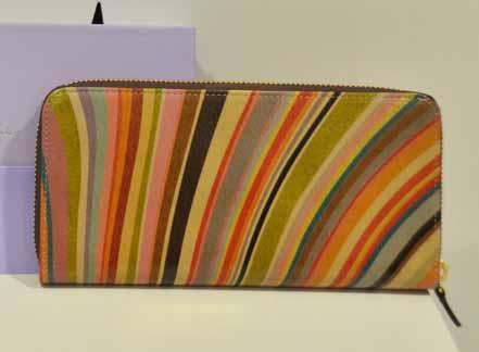 Paul Smith Zippy Long Wallet ลาย Swirl Vintage สีใหม่เก๋สุดๆ ของใหม่นะคะ