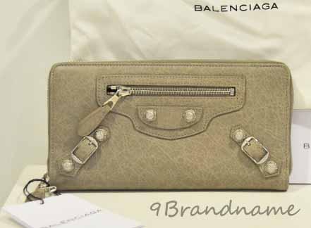 Balenciaga Zippy Long Wallet SHW