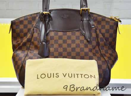 Louis Vuitton  Verona Damier GM ไซสใหญ่สภาพสวยมากๆ สายยังแข็ง