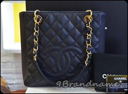 Chanel PST Petite Shopping Tote Black Caviar GHW กระเป๋าทรง Shopping ใบเล็ก สีดำคาเวีียร์ อะไหล่ทอง ใช้ง่าย ไม่หนักค่า มือสอง สภาพเหมือนใหม่