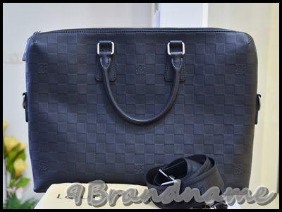 Louis Vuitton Porte Document Damier Infini กระเป๋าผู้ชาย ใส่เอกสารหรือ notebook พร้อมสายสะพายค่า หนังปั๊มลาย graphite เท่สุดๆ