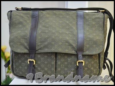 Louis Vuitton Saumur Green Military Limited Collection กระเป่าสะพาย ผู้ชาย ใบใหญ่สุดเท่ สาระพัดประโยชน์ค่า