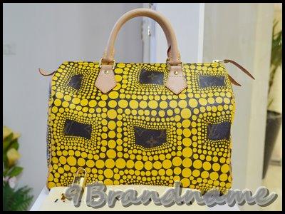 Louis Vuitton Speedy Yayoi Limited 2012 สีเหลือง สภาพสวยมากค่า