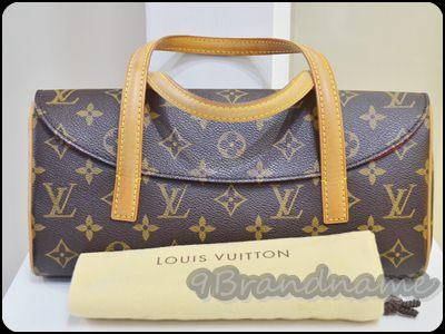 Louis Vuitton Sonatile monogram PM กระเป๋าสะพายไหล่ใบเล็ก ลายหลุยส์ สภาพดีมากค่า