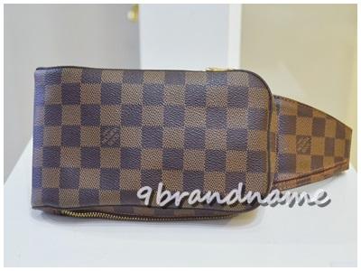Louis Vuitton Geronimos Damier กระเป๋า ผู้ชาย Belt Bag/ body bag ลายตาราง มือสองสภาพดีค่ะ