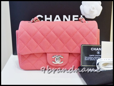 Chanel mini 8 rec suede caviar shw กระเป๋าชาแนลใบจิ๋ว มินิ สีแดงคาวียร์ หนังกลับ อะไหล่เงิน รุ่นใหม่ มือสอง สภาพใหม่มากค่ะ