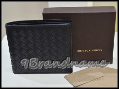 Bottega Veneta Short Wallet 8 Cards black