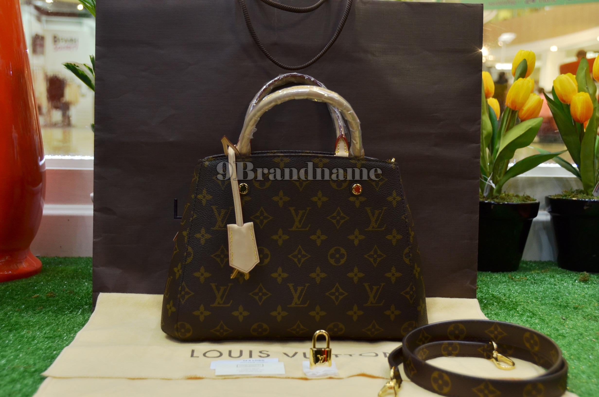 Louis Vuitton Montaigne BB Monogram - Authentic Bag  กระเป๋ารุ่นนิยมไซน์เล็กน่ารัก สามารถถือได้ สะพายได้ ค่ะ