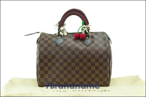 Louis Vuitton Speedy 30 Damier - Used Authentic Bag  กระเป๋าหลุยสปีดี้ ไซน์30 ลายดามิเย่ พร้อมหูถัก ของแท้มือสองสภาพดีค่ะ