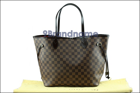 Louis Vuitton Neverfull NVF Damier MM - Used Authentic Bag