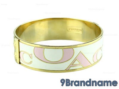 Coach Bracelet Pink - Used Authentic