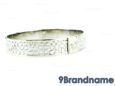 Coach Bracelet Silver - Used Authentic