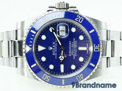 Rolex Submariner Ceramic Steel Blue