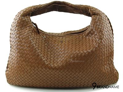 Bottega Veneta Medium Intrecciato Brown - Used Authentic Bag