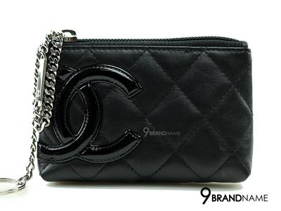 Chanel Cambon Coin Purse Leather Black - Used Authentic Bag  กระเป๋าใส่เหรียญชาแนล คามบอนสีดำของแท้มือสองสภาพดีค่ะ