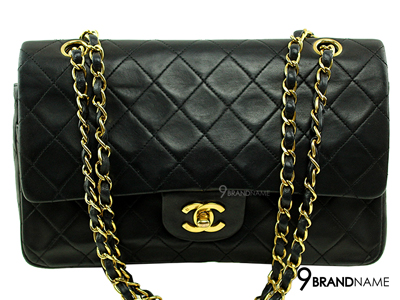 Chanel Classic 10 Lamb Skin GHW - Used Authentic Bag