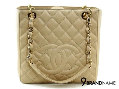 Chanel PST Beige Cavier GHW - Used Authentic Bag กระเป๋าชาแนล พีเอสที สีเบสคาเวียอะไหล่ทอง ของแท้มือสองสภาพดีค่ะ