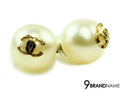Chanel Earring Large Pearl