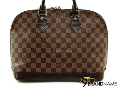 Louis Vuitton Alma PM Damier Ebane Canvas - Used Authentic Bag กระเป๋าหลุยวิตตอง อัลม่า พีเอ็ม ดามิเย่ ของแท้มือสองสภาพดีค่ะ