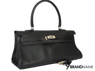 Hermes Kelly Shoulder Black PHW - Used Authentic Bag กระเป๋า แอร์เมส เคลลี่ สีดำ อะไหล่เงิน หนังเครเมนสวยมากๆค่ะ รุ่นนี้สะพายไหล่สวย คล้องแขนก็หรู ดดีมากๆค่ะ ของแท้ มือสอง สภาพดีค่ะ