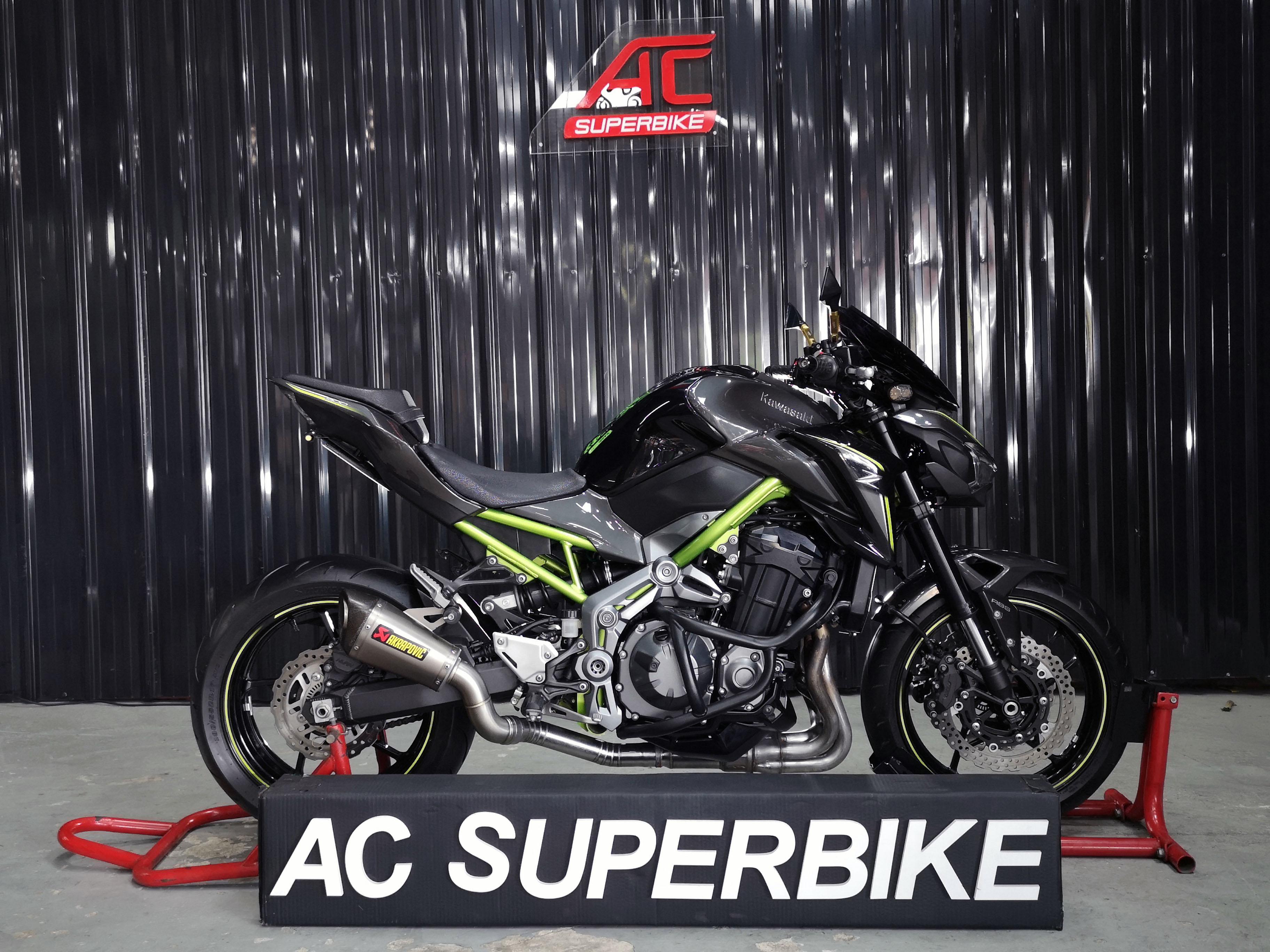 Z900 ABS สีดำ โครงเขียว ปี18 (ปิดการขาย)