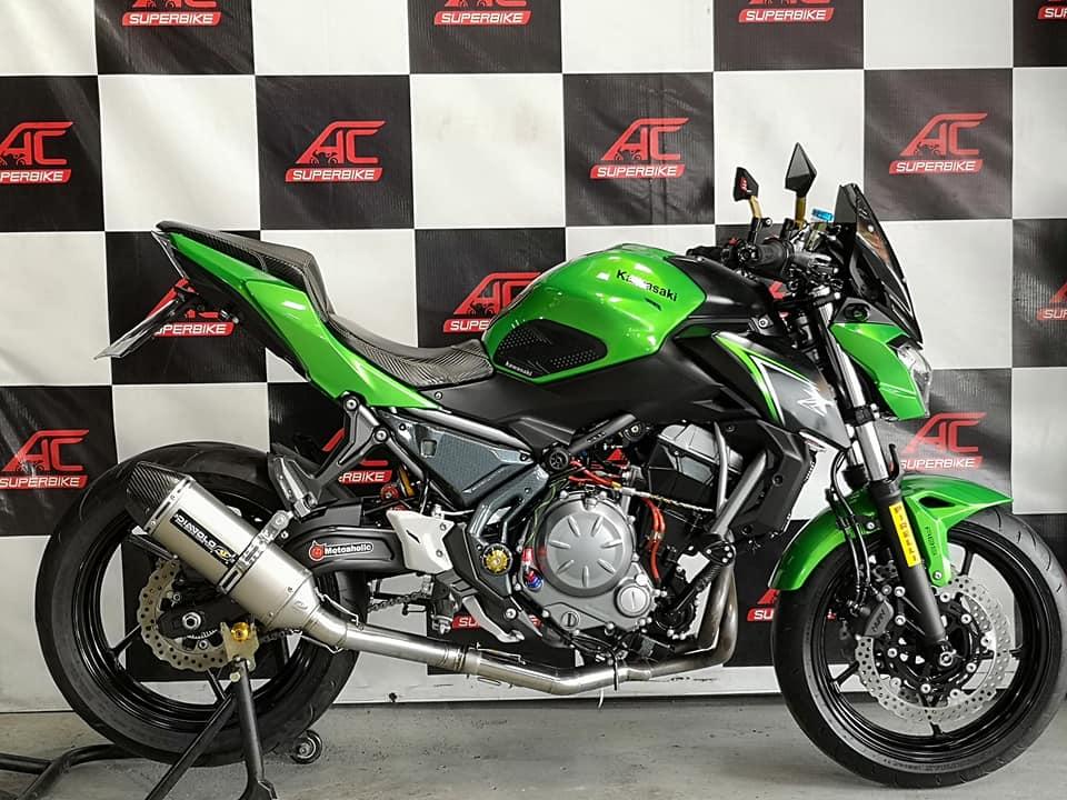 Z650 ABS สีเขียว-ดำ ปี17  (ปิดการขาย)