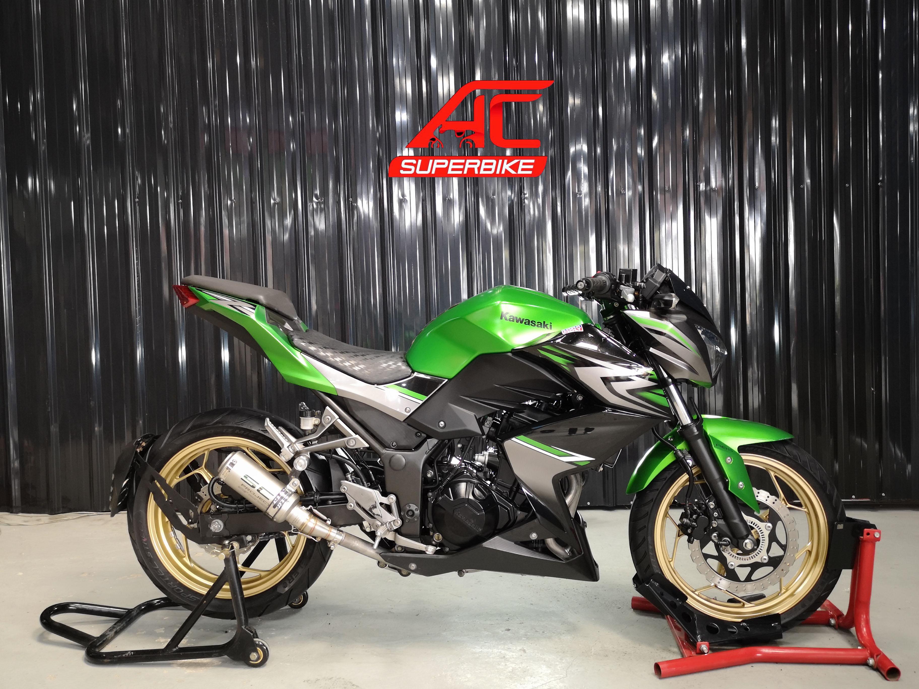 Z300 สีเขียว-ดำ ปี17 (ปิดการขาย)