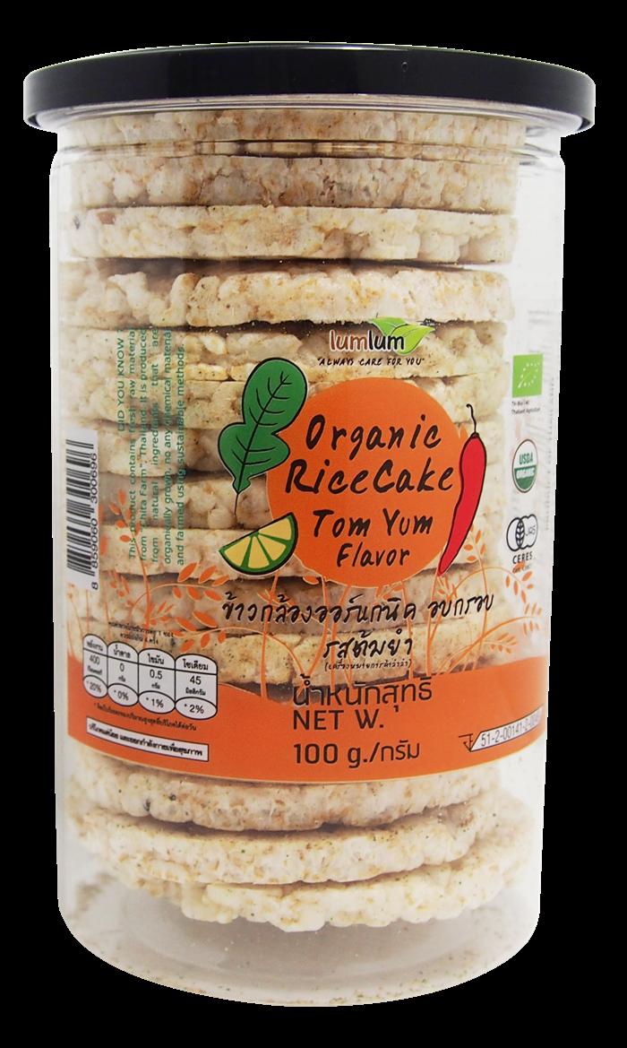 Organic  Rice Cakes Tom Yum Flavor