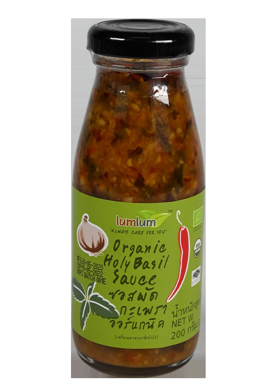 Organic Holy Basil Sauce
