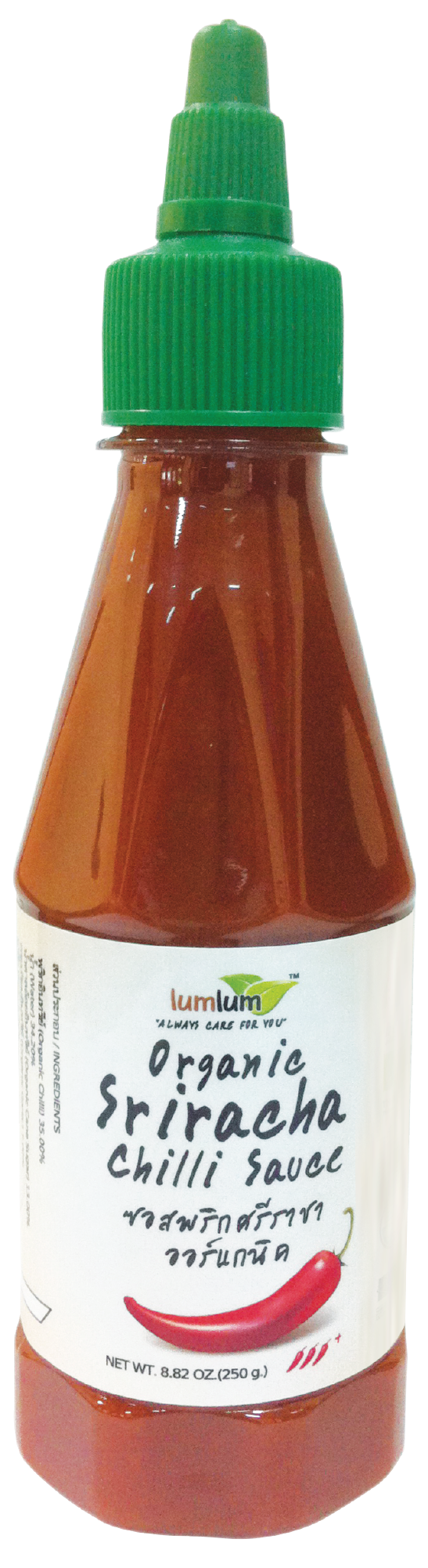 Organic Sriracha Chilli Sauce ( An Authentic Thai Spicy Sauce )