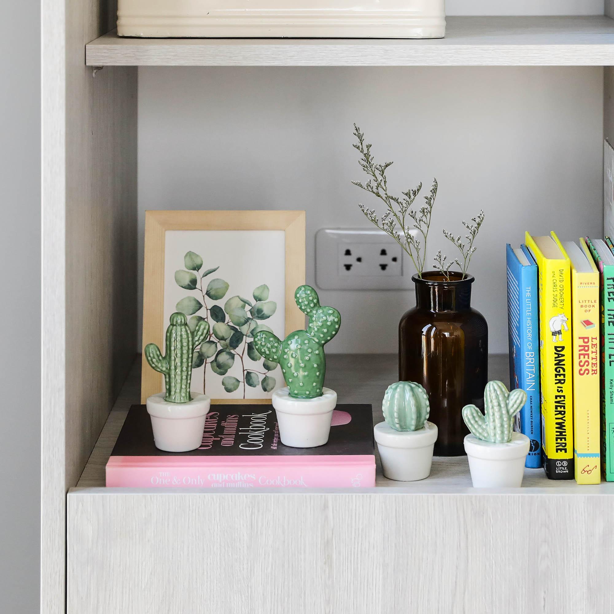 Ceramic Cactus-S
