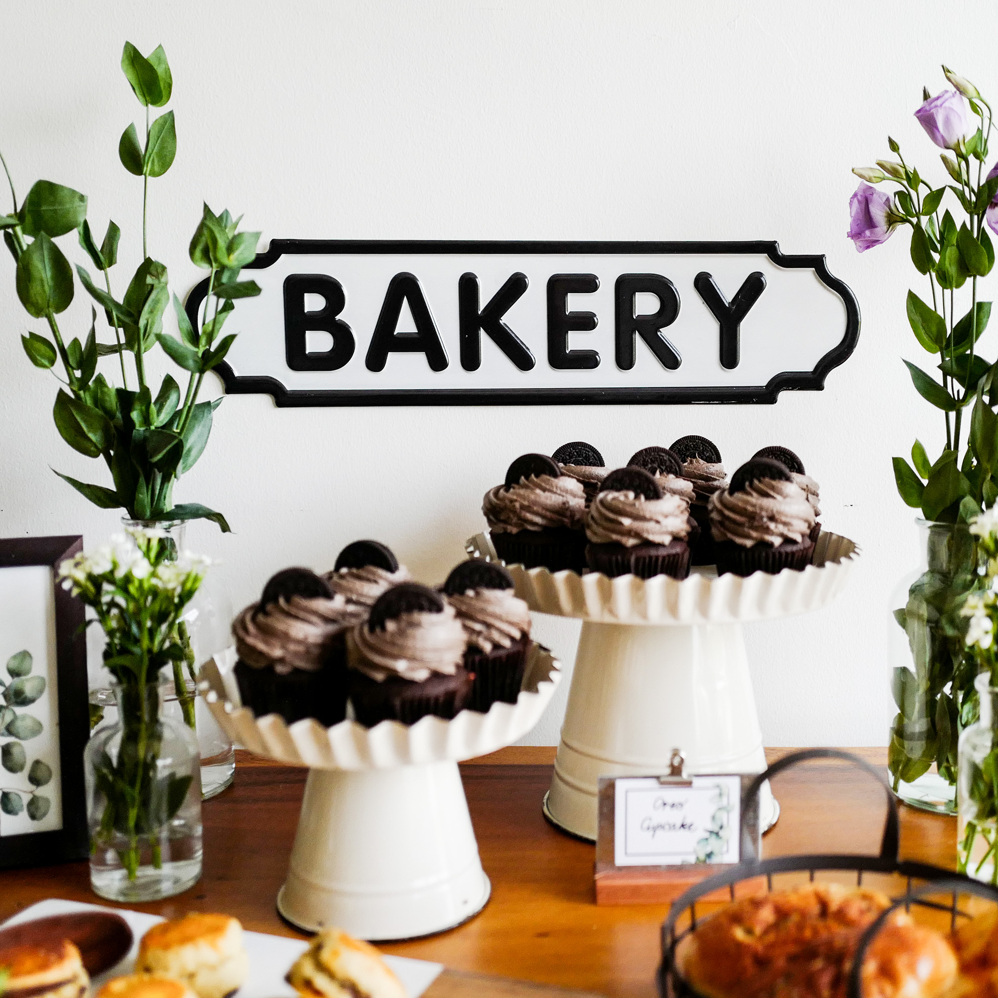 Bakery  Plate Sign
