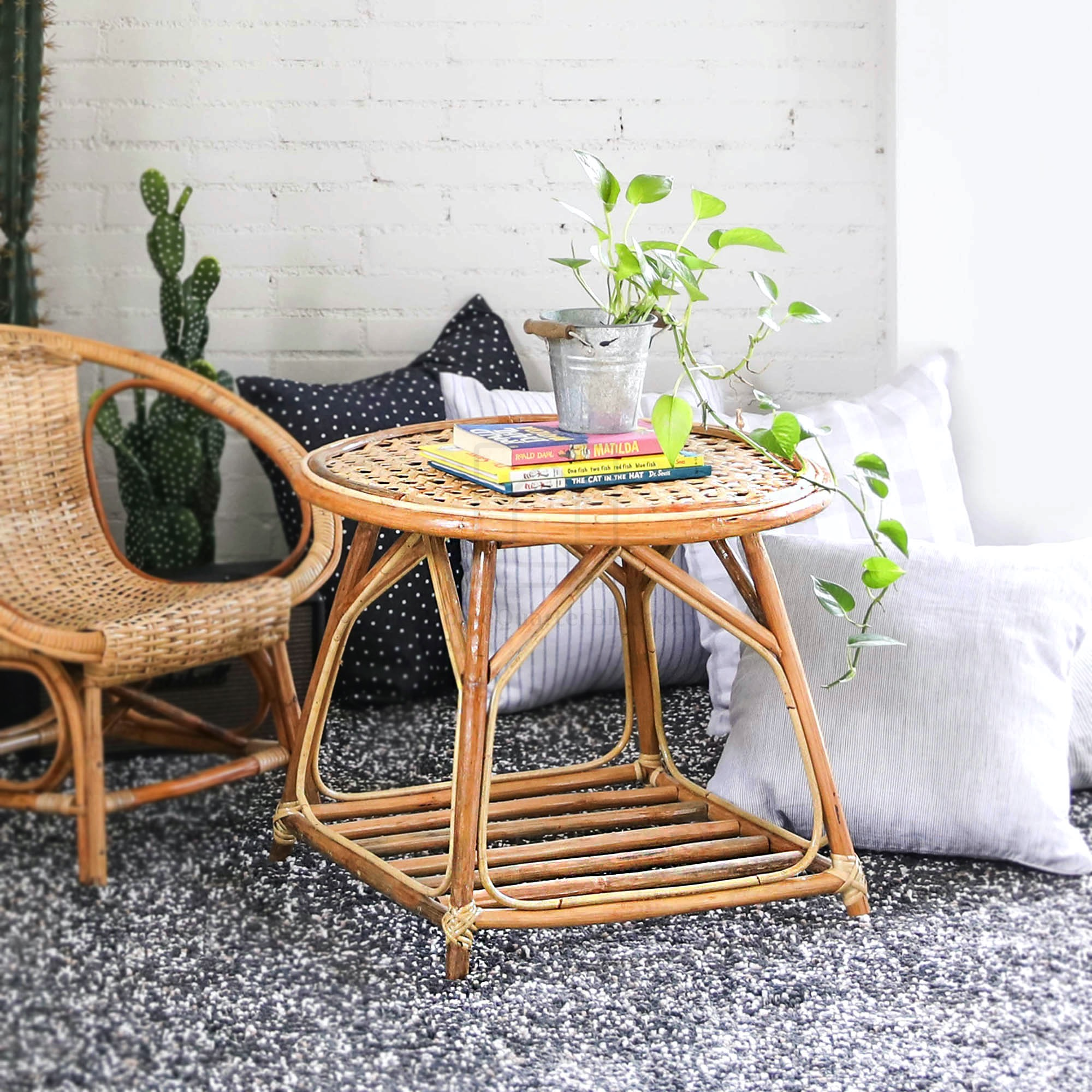 Rattan Pikul Coffee Table