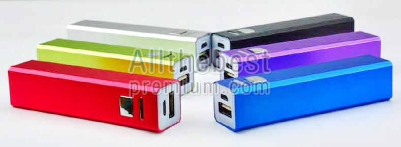 แบตเตอรี่สำรองไฟ Power Bank : 2600 mAh-sumsung