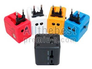 ปลั๊กไฟนานาชาติพร้อม USB