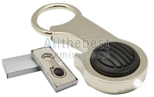 พวงกุญแจโลหะมีไฟฉาย เปิดขวดได้