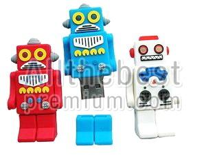 แฟลชไดร์ฟแบบสั่งผลิต-รูปหุ่นยนต์