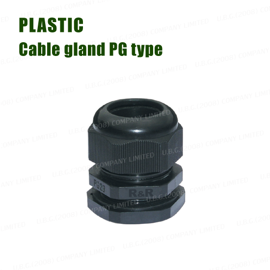 Cable gland - PLASTIC PG TYPE