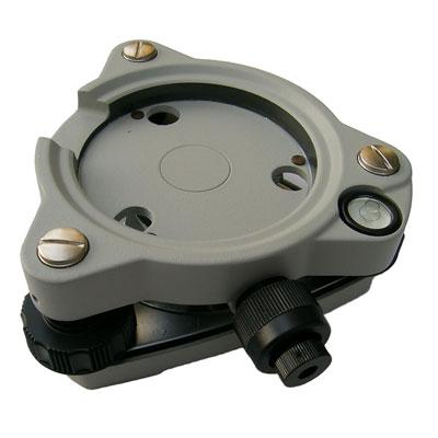 ฐานพร้อมเลนส์ส่องหมุด(Tribrach) สำหรับกล้องและปริซึมฐาน